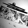 random lines (fixionauta) Tags: fixionauta renato quiroga artwork canson brushpen sketch blackandwhite bw monochrome
