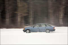 20180218. Auto. 4160 (Tiina Gill (busy)) Tags: estonia outdoor winter snow car driving panning