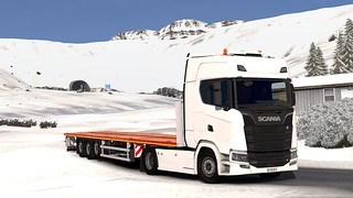 Scania S580 + Faymonville MAX Trailer 200