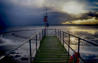 Storm Clouds over the Dee