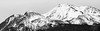 Mt. Shasta (FunkyPepper) Tags: california unitedstates us mt shasta mountshasta landscape mountain nature trees hase bw blackandwhite 239 wide aspect ratio