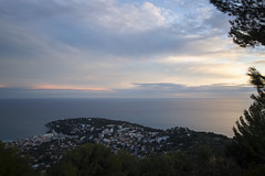 2018 winter on the Riviera [VIII] (Olivier So) Tags: france frenchriviera riviera sunset sky clouds roquebrune roquebrunecapmartin
