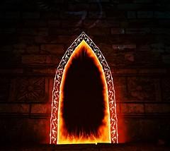 The Door   The Witcher 3: Wild Hunt (UraniumRailroad) Tags: thewitcher3wildhunt witcher wildhunt door gateway portal