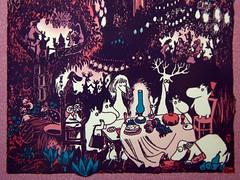 Snufkin is trekking South tonight... (peet-astn) Tags: finnfamilymoomintroll tovejansson 1948 illustration book