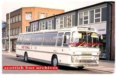 UNITED 1301 GHN201J (SCOTTISH BUS ARCHIVES) Tags: united 1301 nationalbuscompany bristolremh plaxtonelite