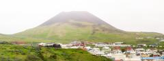 Helgafell volcano, Heimaey, Westman Islands (ceeko) Tags: 2015 heimaey iceland olympusem5 westmanislands panorama volcano vestmannaeyjabær