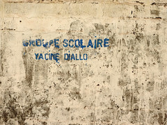 Groupe Scolaire (Drew Makepeace) Tags: wall guinea school