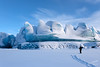 Glancing at The Glacier (Gary Randall) Tags: gar95322 alaska adventure glacier hiking knikglacier knikriver landscapes blue ice palmer anchorage