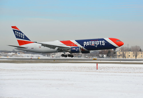 New England Patriots Private 767-300 MSP Super Bowl 52