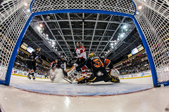 "Kansas City Mavericks vs. Cincinnati Cyclones, February 3, 2018, Silverstein Eye Centers Arena, Independence, Missouri.  Photo: © John Howe / Howe Creative Photography, all rights reserved 2018. • <a style=""font-size:0.8em;"" href=""http://www.flickr.com/photos/134016632@N02/26245173328/"" target=""_blank"">View on Flickr</a>"