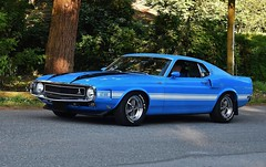 1970 Shelby GT500 fastback (Custom_Cab) Tags: 1970 ford mustang shelby gt500 gt 500 fastback blue car