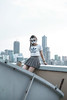 IMG_9526 (sianlong) Tags: rooftop girl woman portrait pretty pose street streetlife mask l