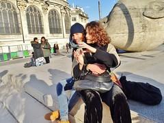 2018-02-17  Paris - Les Halles - Saint-Eustache (P.K. - Paris) Tags: paris février 2018 february people candid street