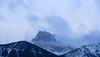 misty mountain peak (1DesertRose) Tags: canada banff mountains peak mist trees winter snow rocky