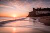 Kingsgate Bay Sunrise (Nathan J Hammonds) Tags: kingsgate bay kent uk england coast sea beach sand wave building sun sunrise water clouds sky seascape nd filter movement landscape nikon d750 morning