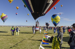 Hot Air Balloon Festival 2017 10 (rschnaible) Tags: albuquerque balloon fiesta hot air festival new mexico west western southwest us usa sky outdoor color colorful fly flight vehicle transportation sport landscape editorial photojournalism