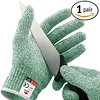 NoCry Cut Resistant Gloves - High Performance Level 5 Safety, Food Grade. Green, Size Extra Large - DiZiWoods Store (diziwoods) Tags: cut diziwoods extra food gloves grade green high large level nocry performance protection resistant size store