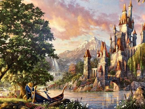 Epcot, Festival Of Arts, Disney Art Prints -021
