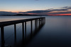 Pier (Massimo_Discepoli) Tags: pier lake longexposure sunset dusk surreal landscape trasimeno