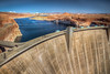Glen Canyon Dam (donnieking1811) Tags: arizona page glencanyondam glencanyon dam glencanyonnationalrecreationarea water blue outdoors sky landscape people cars hdr canon 60d lightroom photomatixpro