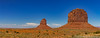 East Mitten and Merrick Butte (sarahOphoto) Tags: arizona utah monument valley navajo tribal park usa united states america nature landscape east mitten butte merrick canon 6d desert sandstone sand orange blue sky indian