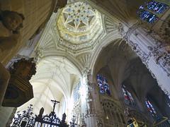 Catedral de Burgos Crucero interior de cimborrio 04 (Rafael Gomez - http://micamara.es) Tags: catedral de burgos crucero interior cimborrio