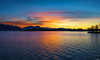 Burning sky (Rico the noob) Tags: dof 50mmf12 50mm landscape sunset nature water mountains outdoor panorama clouds trees 2017 tree sky lake published d850 germany