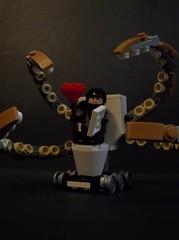 Demonic Plumbing rover (SaurianSpacer) Tags: lego moc febrovery toilet plumbing tentacles blacktron