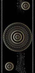 Papier-peint pour porte Photo wallpaper Pattern – circles I (emmanuel_delahaye) Tags: papier mobilier deco artgeist recollection decointerior interiordesign design home décoration papierspein