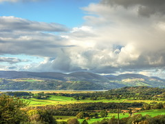 The Dyfi Estuary - Wales (Digidoc2) Tags: estuary dyfiestuary rural countryside sunset wales valley forests fields trees clouds farms storm sky country green bucolic idyllic beauty