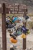 Teakettle Junction (W9JIM) Tags: california unitedstates w9jim dvnp deathvalley teakettlejunction teakettles sign huntermountain 7d2 24105l orange