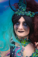 MeraLuna_2014 (20.1) (uwesacher) Tags: porträt musikfestival kontaktlinsen tränen paradiesvogel konzert openair hildesheim flughafen niedersachsen méraluna mera luna color cosplay