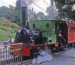 R8371.  Nr.3 ZEPHIR.  08/09/1997. (Ron Fisher) Tags: sbb sbbcffffs switzerland swissrailways sbbhistoric steam steamlocomotive steamengine dampflok locomotive locomotiveàvapeur transport train sonderzug zug schweiz suisse lasuisse dieschweiz schweizerischeeisenbahnen eisenbahneninderschweiz railwaysofswitzerland eisenbahn chemindefer rail railway railroad tankengine 040t zephir
