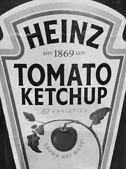"Everyone loves this (hp349) Tags: tomato ketchup heinz ""closeup"" 7dwf ""blackwhite"" bw sauce macro"