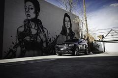 SRT Jeep Graffiti Mural (benburgertphotography) Tags: jeep srt srt8 denver colorado auto car photography graffiti mural ben burgert