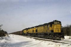 West Gladstone Back in the Day (ac1756) Tags: northwestern cnw chicagonorthwestern alco c628 6707 westgladstone michigan