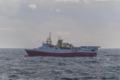 Polar Empress (SPMac) Tags: polar empress gc rieber shipping shearwater geoservices seismic streamers arctic circle barents sea norway lights eni norge goliat fpso 71227 floating production storage oil gas vessel boom bang st 324 tx survey