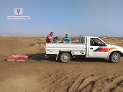 GPR survey at Sinai investigating for underground water (InterScient) Tags: interscienttechnology egypt geophysics geophysicalsurvey gpr antenna sinai investigation undergroundwater