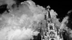 (Nico_1962) Tags: leica zeiss planar nederland wolken clouds sky lucht gouda rangefinder meetzoeker thenetherlands leicam m9 zwartwit bw blackandwhite
