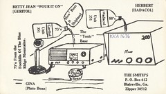 Geritol & Hadacol - Blairsville, Georgia (73sand88s by Cardboard America) Tags: qsl cb cbradio vintage qslcard georgia radio medicine