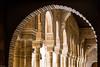 A travers l'arche. (Eric83400) Tags: grenade espagne andalousie alhambra