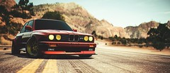 BMW M3 (polyneutron) Tags: bmw m3 classics needforspeed nfs payback dof sun lines red rock