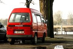 Piaggio Porter (timvanessen) Tags: 1bty002 antwerpen schelde anvers antwerp haven