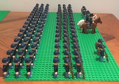 Union Army (Brendan Helms) Tags: unitedstates usa northern north model battle soldier custom moc collection display minifig minifigure lego military history civilwar americancivilwar war infantry army union