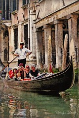 Gondola (socalgal_64) Tags: gondola gondolaride gondolier venice italy veniceitaly carolynlandi europe water canal old historical traditional people tourists buildings structures architecture