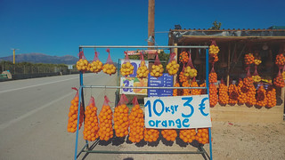 Oranges in Greece