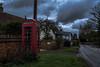 The telephone box (dusk_rider) Tags: wymondley england hertfordshire telephone box red nikon d7200 1224mm f4 english country village february cloud phone