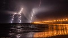 KABOOM!!! (d_joshua_brunner.) Tags: djoshuabrunner d7200 landscape lightning pilbara onslow ocean western australia wa westernaustralia