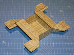 Rhombicuboctahedron unit SID::RCO (bottom view) (ISO_rigami) Tags: modular origami 3d unit sid rhombicuboctahedron a4 minecraft eckhardhennig cube sidrco module