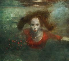 Destellos lunares (barbarabezina) Tags: portrait underwater art barbarabezina colorful fineart photomanipulation